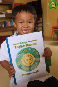 Som with English Phonics book