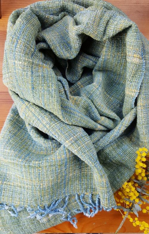 green women scarves