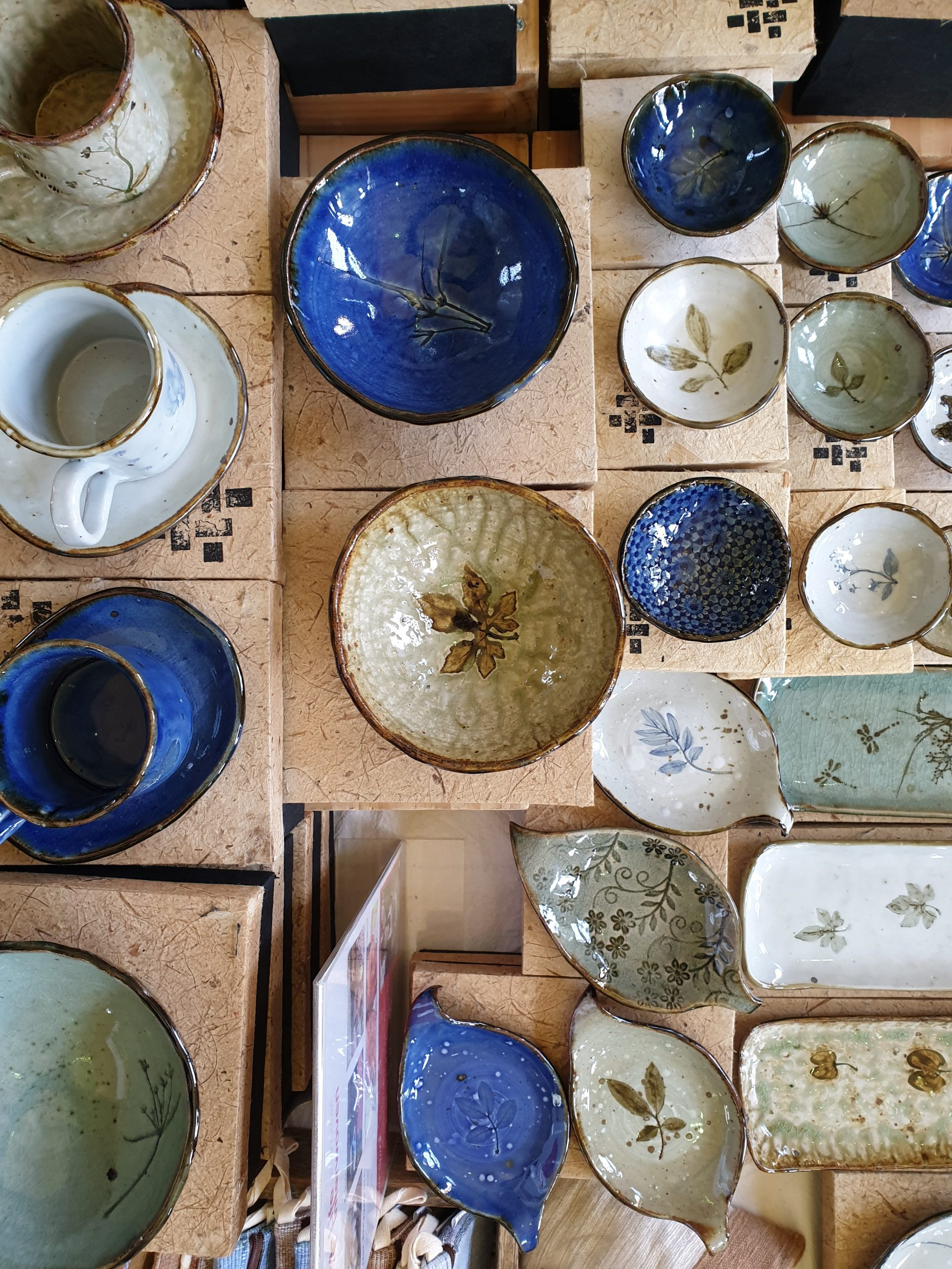 bird's eye view of ceramic ranges of Life Interwoven